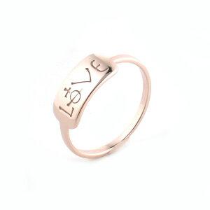 【VivienneWestwood】ヴィヴィアンウエストウッドリング指輪ボビーリングLOVEピンクゴールド3653【対応】【送料無料】