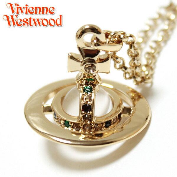 【Vivienne Westwood】ヴィヴィアン ウエストウッド ネックレス NEW TINY ORB タイニーオーブペンダント ゴールド 1810 【あす楽対応】【送料無料】