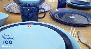 北欧キッチン雑貨iittalaイッタラteemaティーマブループレート皿
