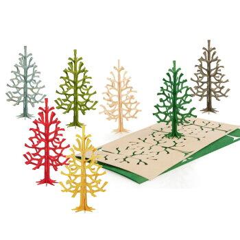 Loviロヴィクリスマスカードクリスマスツリー北欧人気雑貨プレゼントカード