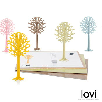 Loviロヴィカードツリー北欧人気雑貨プレゼントカード