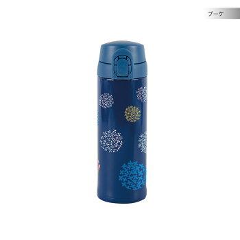 ワンプッシュマグボトルガーデンSPCscandinavianpatterncollection(スカンジナビアンパターンコレクション)水筒-北欧デザイン雑貨