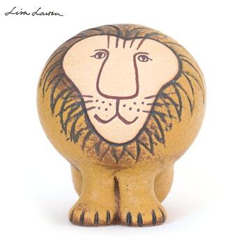 【送料無料】LISALARSON(リサ・ラーソン)LionSemiMediumライオンセミミディアム陶器置物動物かわいいインテリア北欧雑貨大人気