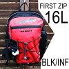 マムート送料無料16Lフィルストジップバックパックリュックサックブラックインフェルノキッズ用MAMMUTFirstZip/16L/black-inferno子供バッグ鞄リュックサックリュック遠足黒赤