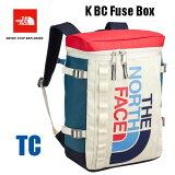 ザ ノースフェイス 送料無料 無償修理対象正規品 BCヒューズボックス(キッズ) キッズ 小学生 中学生 高校生 大学生 ボックス型のデイパック  The North Face K BC Fuse Box 21L NMJ81630 (TC)トリコロール