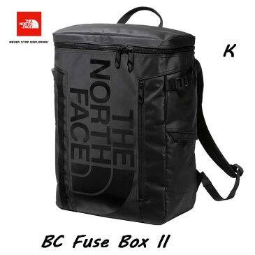 The North Face NM82000 K BC Fuse BoxII 30L 2020年最新作 スリーヴがフリース素材!オーガナイザーに改良! ザ ノースフェイス BCヒューズボックス ツー ブラック 大学生 パソコン収納