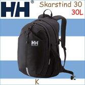 ヘリーハンセン 2017年モデル スカルティン30 ブラック リュックサック リュック  鞄 バッグ アウトドアHELLY HANSEN Skarstind 30 30L K BLACK HOY91701