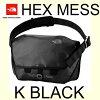 ザノースフェイスヘックスメッセンジャーMKBLACKNM81456耐水性の高い生地を使用した20L中型サイズのメッセンジャーバッグ。TheNorthFaceHexMessengerMKBLACK