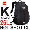 ザノースフェイスホットショットシーエル26L多機能デイパックTheNorthFaceHotShotCLNM71606(K)ブラック