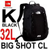 ザノースフェイスビッグショットシーエル32L多機能デイパックTheNorthFaceBigShotCLNM71605(K)ブラック