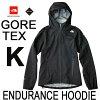 ザ・ノース・フェイスGORE-TEX®C-Knit™Backer採用エンデュランスフーディ(メンズ)TheNorthFaceMensEnduranceHoodieNP61772(K)ブラック