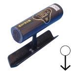 カクマン(本職用) (数量限定在庫処分品) 中首 両セマ切付面引鏝 ステン 120mm 羽根巾21 黒柄