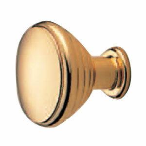 シロクマ 真鍮 パルケツマミ 25mm 純金 1個価格 ※メーカー取寄品 KB-60