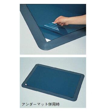 日本緑十字社粘着クリーンマット600×900mmライトブルー※受注生産品322011