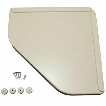 アイワ金属 ワイドツッパリ三角棚 ホワイト(1箱・5個価格) AP-040W