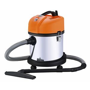 日動 業務用掃除機 乾湿両用 20L ステンレス バキュームクリーナー NVC-20L-S