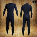 国内縫製 伸縮素材 BLACK Jersey CLASSIC 3mm フルスーツ FULLSUITE