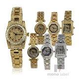 【国内正規品】[LOUIS LASSERRE] ルイラセール 腕時計 LL01GD-D LL01GD-R LL04GD-D LL04SV-S LL06GD-R LL08GD-R LL08SV-D レディース ゴールド シルバー 天然ダイヤ ルビー サファイア 【お買い物】
