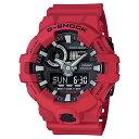 【逆輸入品】【箱訳あり】 カシオ CASIO 腕時計 G-SHOCK ジーショック GA-700-4A メンズ レッド 箱訳あり 海外モデル