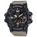 【逆輸入品】【箱訳あり】 カシオ CASIO 腕時計 G-SHOCK ジーショック マッドマスター GG-1000-1A5 メンズ ベージュ 海外モデル