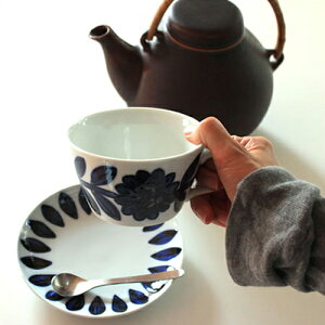 【デイジー マグカップ】テーブルウェア 食器 カップ マグ ティー 花柄 呉須 …