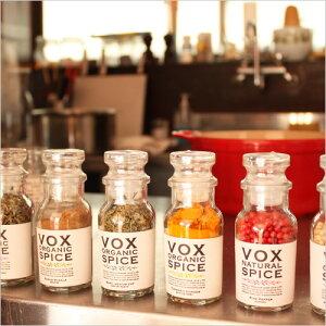 voxspice のオーガニックスパイス・ハーブは、植物本来の力が最大限に引き出され、芳醇で香り高...