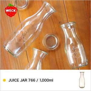 【WECK JUICE JAR 1000ml WE-766】ウェック ジャー ジュースジャー …
