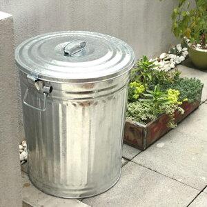 【松野屋メタルペール缶45型】ゴミ箱ごみ箱缶トタン製丈夫■送料無料■あす楽■ラッピング不可