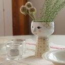 【Bjorn Wiinblad Eva Vase soft yellow】花瓶 フラワーベース ビヨン ヴィンブラッド 磁器 ギフト■ ラッピング無料