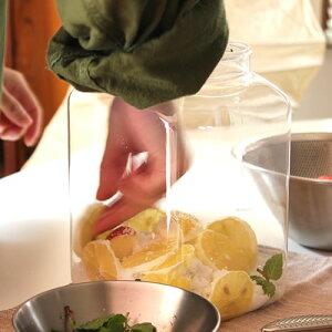 自然にある発酵菌や私たちの体にある常在菌で発酵させて作る酵素シロップが簡単に作れる手作り...