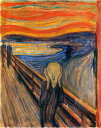 【送料無料】複製名画油絵 ムンク作「叫び」額付き 絵画サイズ: 50x60 cm