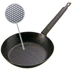 スーパーエンボス加工超鉄鍋フライパン 22cm