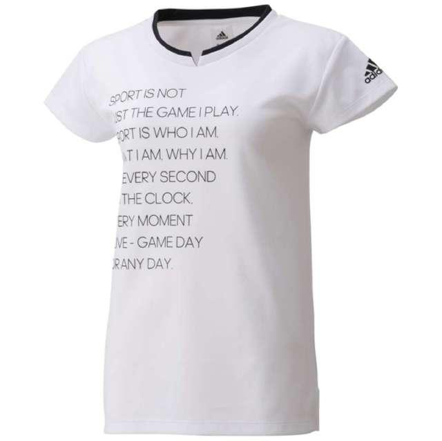 アディダス 半袖Tシャツ レディース W 24/7 ワーディング半袖Tee DMW41-BS1132 adidas