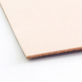 ヌメ革生成りハード A4サイズ1.8ミリ【株式会社モリヨシ謹製】