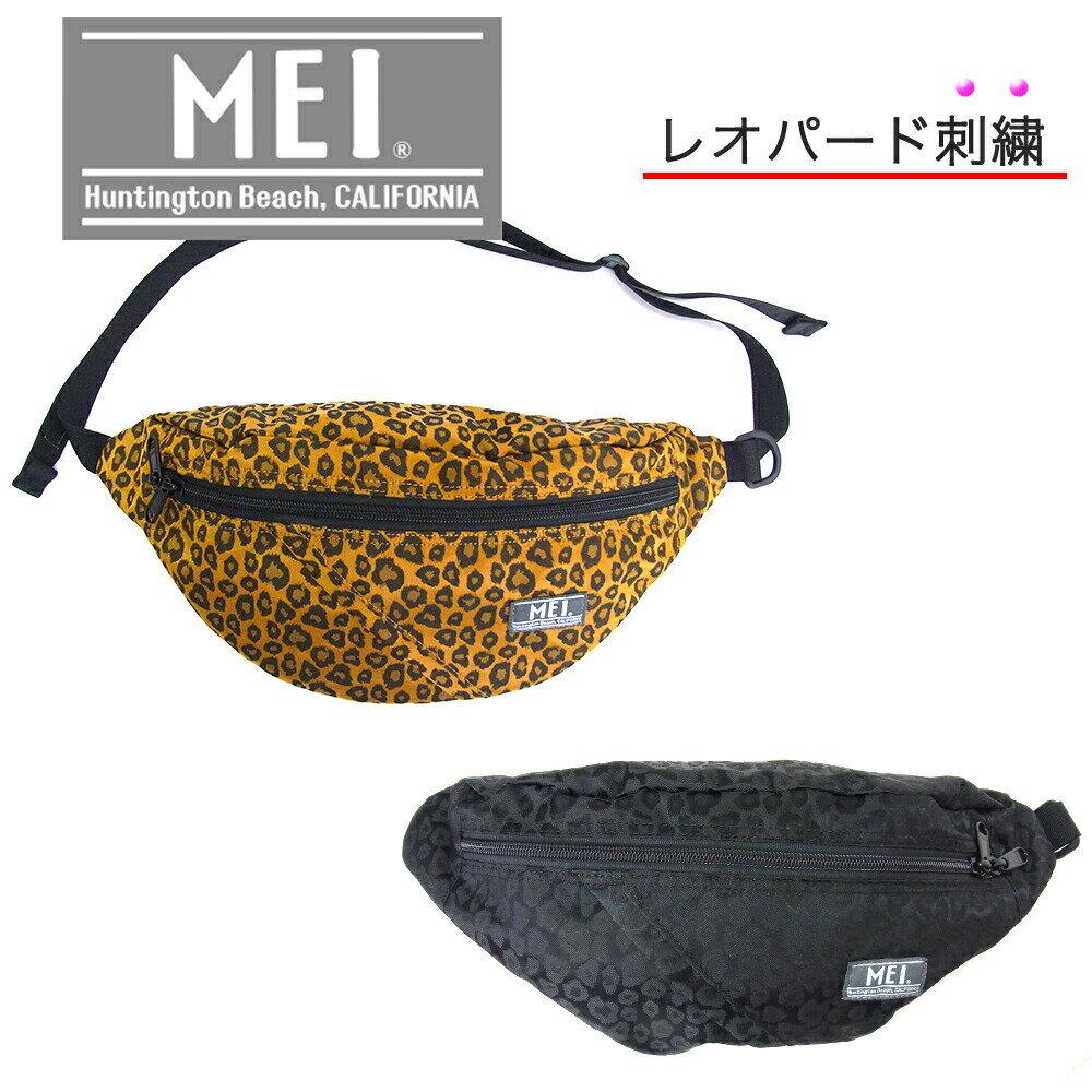 男女兼用バッグ, ボディバッグ・ウエストポーチ MEI MEI-000-193501 LEOPARD MEI