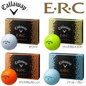 キャロウェイ ERC ボール 1ダース(12球入り) 【あす楽対応】 [2016年モデル] [有賀園ゴルフ]