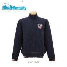 バンカーメンタリティーメンズ長袖ブルゾンB-ZIPPER6C
