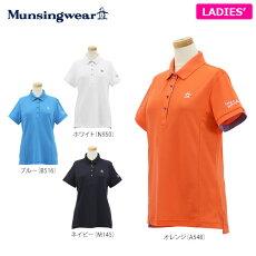 マンシングウェアレディス半袖ポロシャツJALJ204