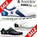 フットジョイ メンズ PRO / SL Boa スパイクレス ゴルフシ...