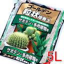 【24時間限定★送料無料】ゴールデン粒状培養土 サボテン・多肉植物用 5L GRB-SB5