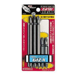 ギザビットセットBW-172(株)ベッセル【工具/機械/作業/大工/現場】【T】