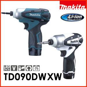 マキタ充電式インパクトドライーバーTD090DWX10.8V(青・ホワイト)