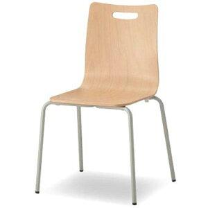 【送料無料】オフィスチェアウッドエルチェアCWLC-F014つ脚ヌード【TD】【CTS】【オフィスチェアーミーティングチェア椅子会議室イススタッキング】
