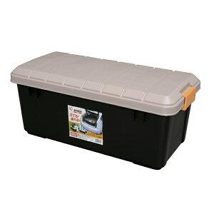 収納ボックス RVBOX 800 カーキ/ブラック[屋外 収納 RVボックス 工具ケース 工具箱 キャンプ アウトドア 釣り BBQ 洗車 収納 アイリスオーヤマ ストッカー バイク ボックス 軽トラック 荷台 トラ