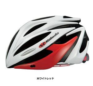 OGK Kabuto ALFE ホワイトレッド 自転車 ヘルメット  【送料無料】(沖縄・離島を除く)