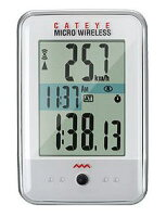 CATEYEサイクルコンピュータCC-MC200Wマイクロワイヤレス