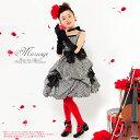【ギンガムチェック】130cm、140cm、150cm子供ドレス マルシェ 女の子【リボン3個】ピアノ発表...