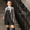 卒業式 スーツ 女の子 小学生 パンツ 145 150 160 165cm パンツスーツ 4点セット...