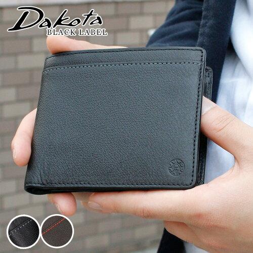 Dakota BLACK LABEL ダコタブラックレーベル リバーII シンプル 2折財...