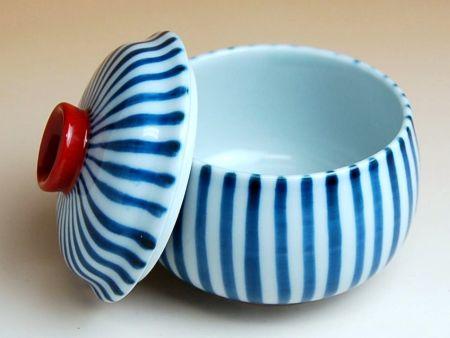 茶碗蒸し食器和食器有田焼波佐見焼朱巻十草蒸し碗